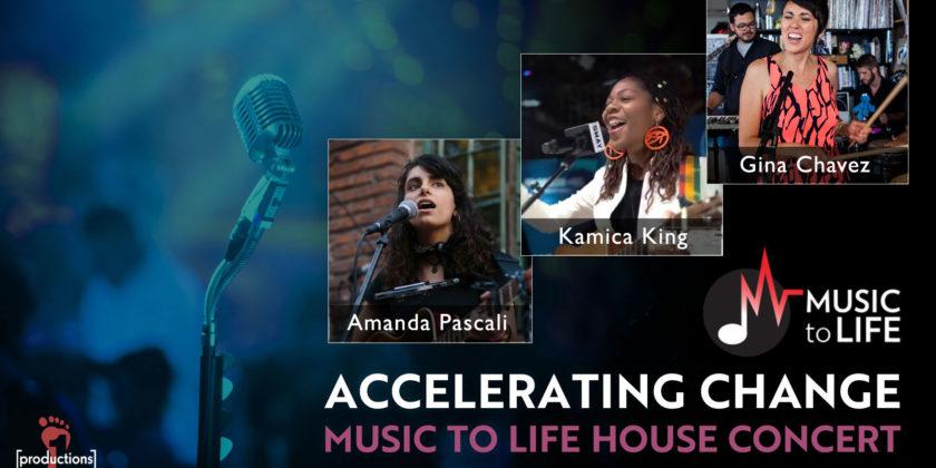 Accelerating Change House Concert: July 26, 2020