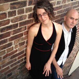 Brian Claflin and Ellie Grace