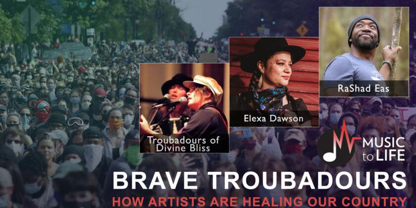 Brave Troubadours: April 22, 2021