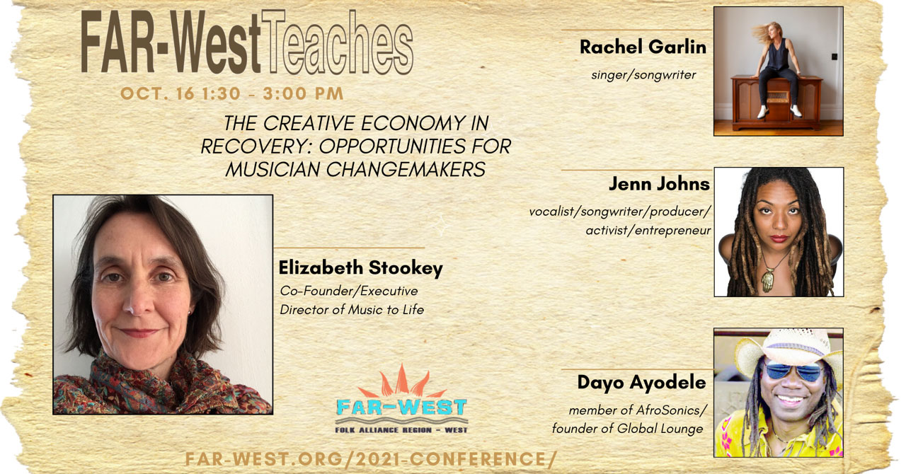 The Creative Economy in Recovery: Opportunities for Musician Changemakers